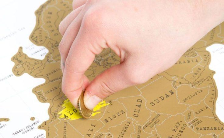 idee regalo bambini: mappe da grattare