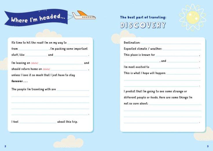 diario viaggio per bambini idea regalo natale