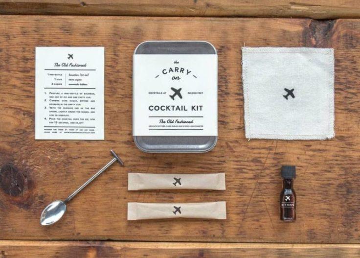 travel gadget: il kit per realizzare cocktail involo