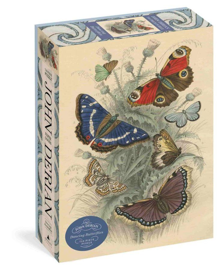 puzzle di farfalle